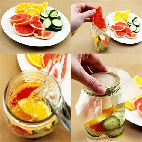 Detox Water Apple Orange Lemon by 4 Diy Detox Waters