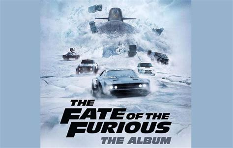 fast and furious 8 soundtrack fast and furious 8 soundtrack tracklist ufficiale