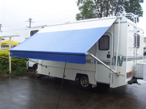roll out caravan awnings rainwear