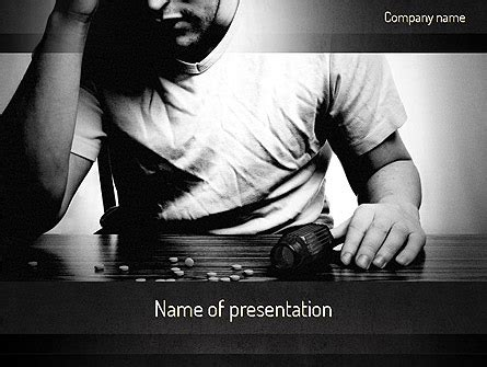 Withdrawal And Detox Powerpoint Template by Addiction Presentation Template For Powerpoint And