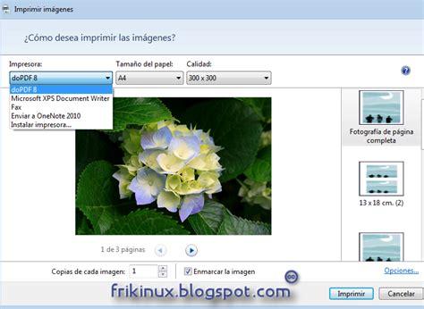 imagenes crear pdf crear pdf a partir de im 225 genes r 225 pidamente en windows