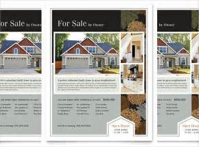 real homes template 20 free real estate flyer template in microsoft