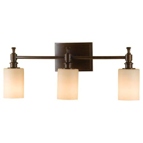 Feiss Vanity Lighting Feiss Sullivan 3 Light Heritage Bronze Vanity Light Vs16103 Htbz The Home Depot