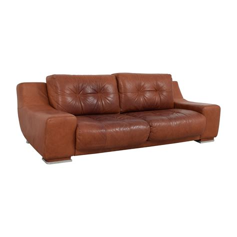 leather sofa second contempo leather sofa magritte modern leather sofa by