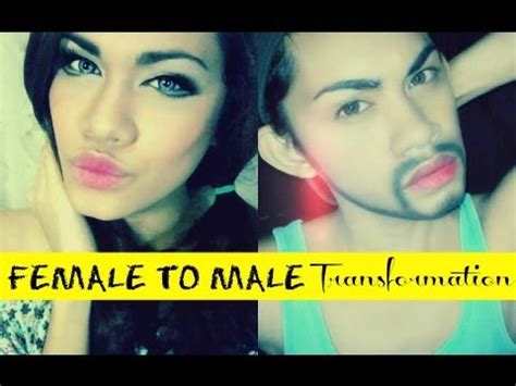 male to female transformation youtube female to male transformation youtube