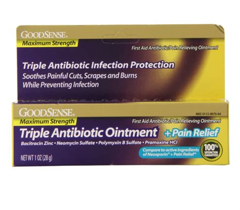 antibiotic ointment for dogs sense maximum strength antibiotic ointment plus relief 1 oz pharmapacks