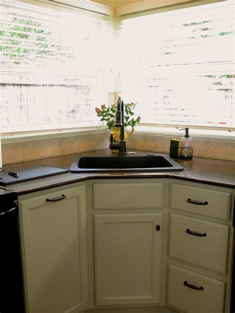 Kitchen Cabinets Corner Sink Best And Cool Corner Kitchen Sink For Clean Home