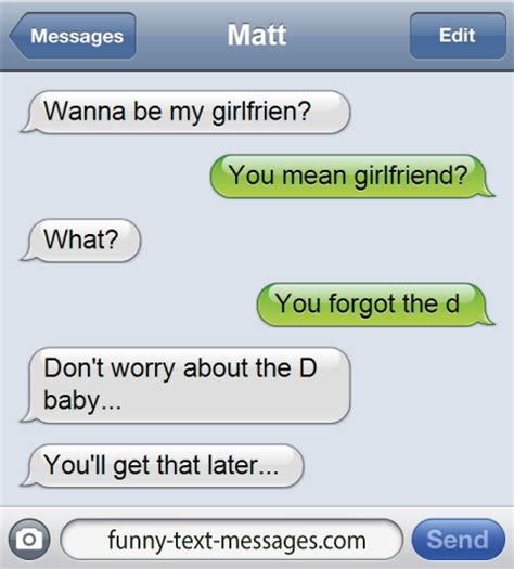 Pics For Gt Funniest Text - funny text message