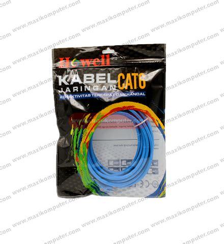 Harga Termurah Kabel Lan Utp Cat 6e Howell 305 Meter kabel jaringan cat6 howell 10m