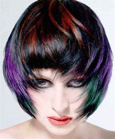 trendy hair colours 2015 short hair color trends 2015