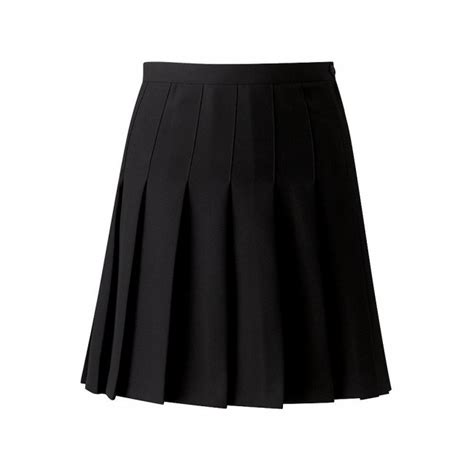 pleated black skirt redskirtz