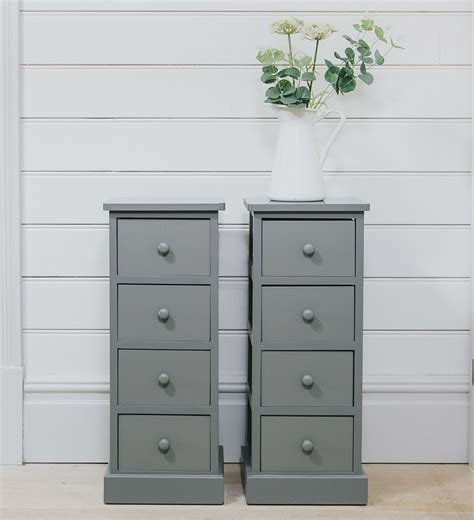 ebay bedside table ls pair of wooden bedside cabinets drawers grey table