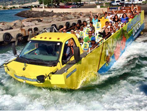 honolulu boat tours hawaii duck tours waikiki land sea sightseeing oahu