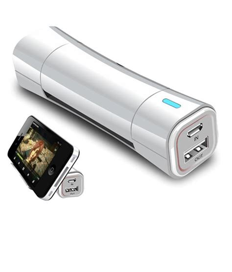 Power Bank Ares 2600 Mah portronics 2600 mah power bank with cradle for your phone white buy power banks