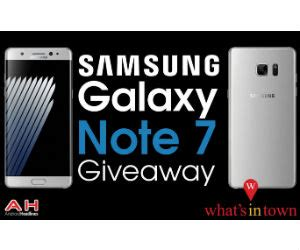 Android Headlines Giveaway - win a samsung galaxy note 7 android smartphone free sweepstakes contests giveaways