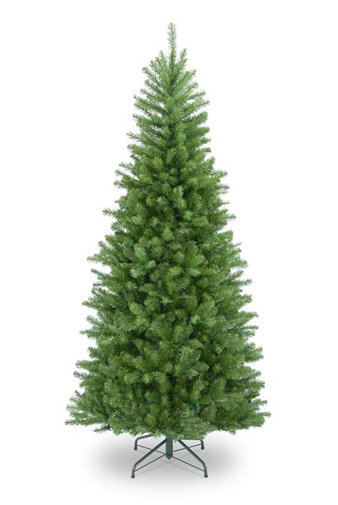 artificial tree prelit 6ft columbia spruce slim artificial tree