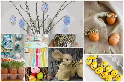 homemade easter decorations for the home 80 easter home decoration and diy ideas for inspiration