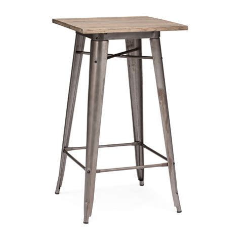 Stainless Steel Pub Table by Outdoor