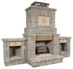 this outdoor fireplace kit from general shale was part of