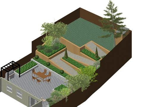 a life designing how to design a sloping garden a life designing sloping garden in gerrards cross