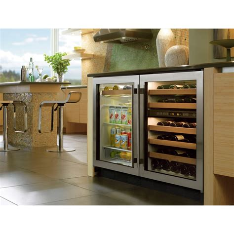 built in beverage center sub zero uc 24bg s th lh 24 quot built in undercounter beverage center classic stainless left