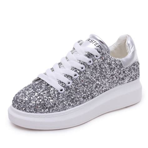 womens glitter sneakers compare prices on glitter platform sneakers