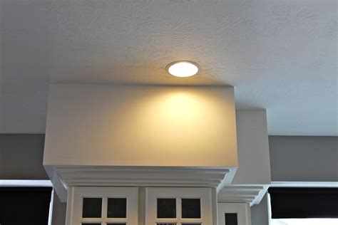 Lighting Above Kitchen Cabinets Decorating Small Kitchen Soffit Ideas Jen Amp Joes Design