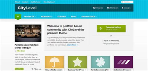 templates for community website 30 free psd website templates boost inspiration