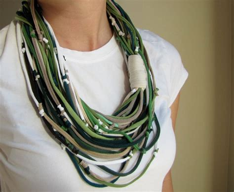 t shirt scarves my style