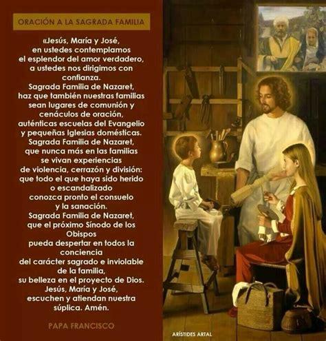 Oracion de la sagrada familia   Oraciones   Pinterest