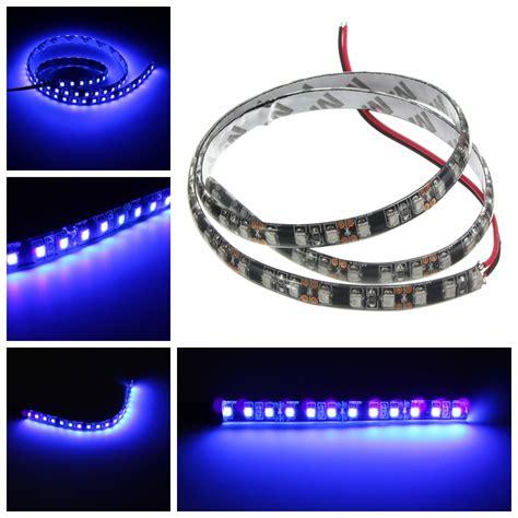 black light strip flexible uv ultraviolet purple 3528 led flexible strip l black