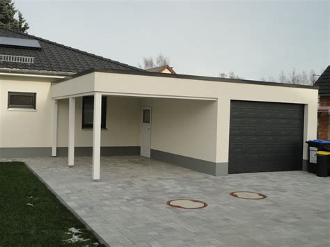 Garage Mit Carport by Garage Carport Kombination Carport Scherzer