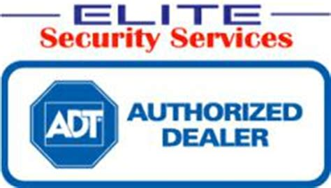 monitoring of home security systems by adt service station