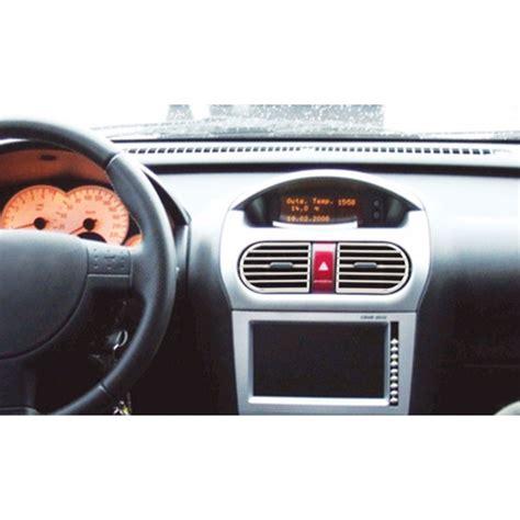 tuning interno auto copertura bocchette fluss opel corsa cromature