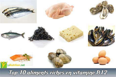 vitamine d alimenti top 10 aliments riches en vitamine b12