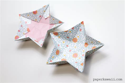 How To Make Paper Dish - origami bowl paper kawaii