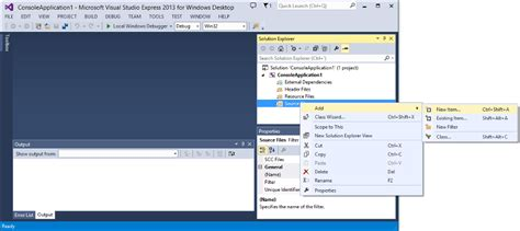 tutorial web visual studio visual studio express c tutorials