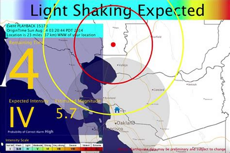 earthquake warning system earthquake early warning system moves closer to reality