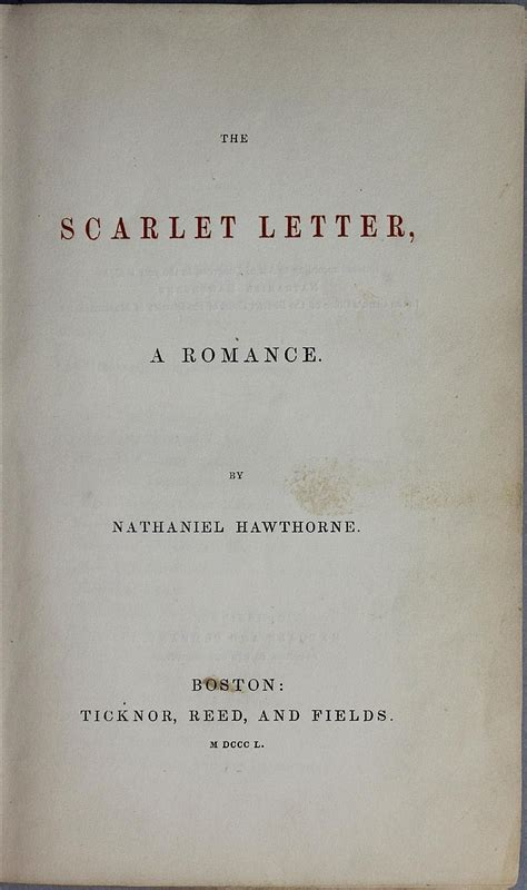 the scarlet letter bilingual edition and edition books hawthorne the scarlet letter 1850 edition