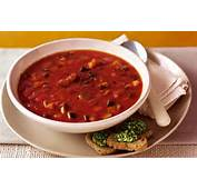 Recipe Ratatouille Soup With Pesto Croutons  Daily Mail
