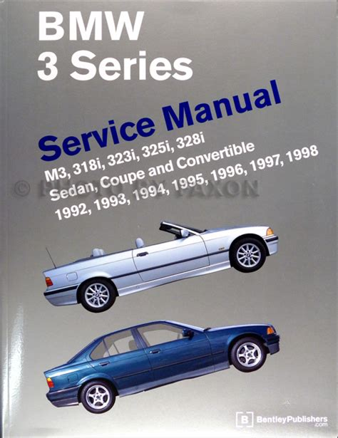 book repair manual 1998 bmw 3 series auto manual 1992 1998 bmw 3 series bentley repair shop manual m3 318i 323i 325i 328i