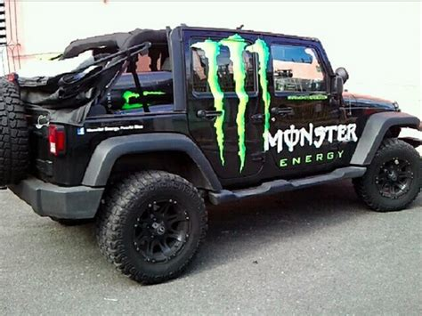 jeep energy work cars jeep wrangler monsterenergy my cars work