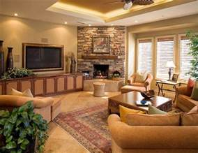 Decorating Ideas For Living Room With Corner Fireplace 17 Ravishing Living Room Designs With Corner Fireplace