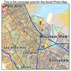 map of mountain view california aerial photography map of mountain view ca california