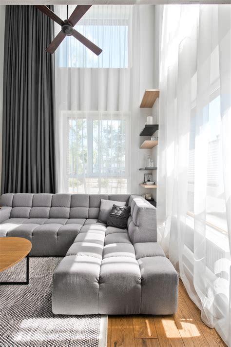 Kitchen Curtain Ideas Small Windows chic scandinavian loft interior