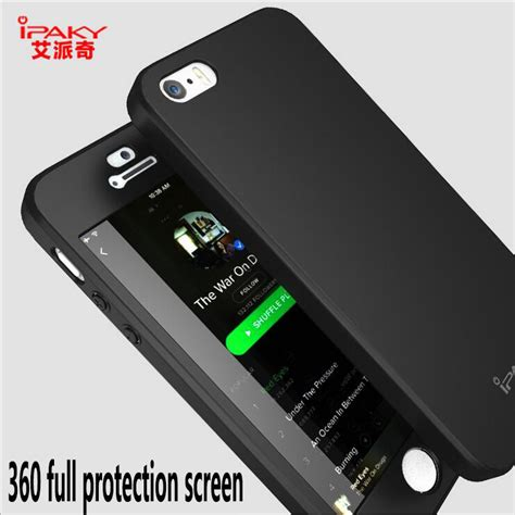 Ipaky 360 Degree Protection Matte Pc For Iphone 6 6s