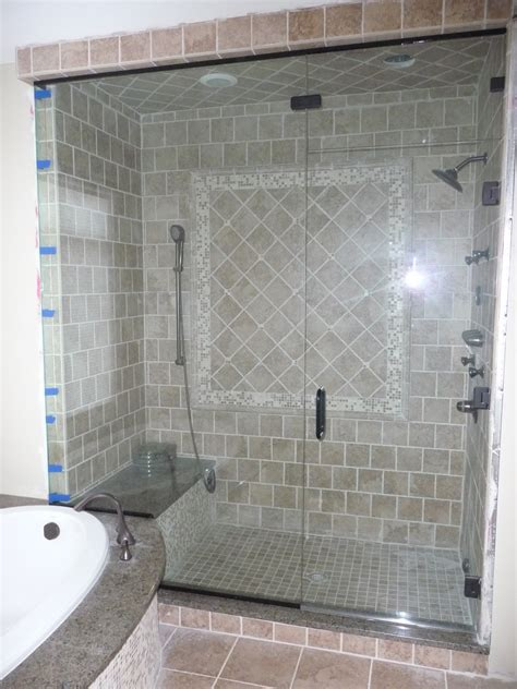 Steam Shower Door by Built Our House Now Our Family Steam Shower Door