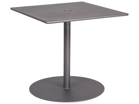 wrought iron pedestal table base woodard wrought iron 30 square bistro table with pedestal