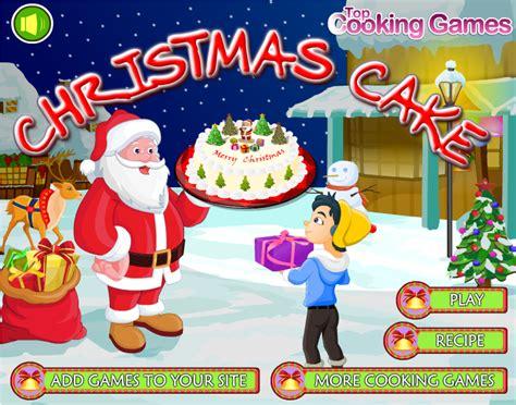 permainan membuat pohon natal permainan memasak kue natal permainan memasak top