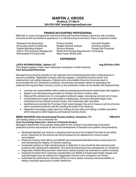 financial analyst resume examples entry level financial